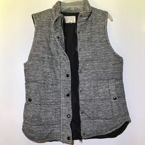 Stitch Fix • Skies Are Blue Gray Quilted Vest